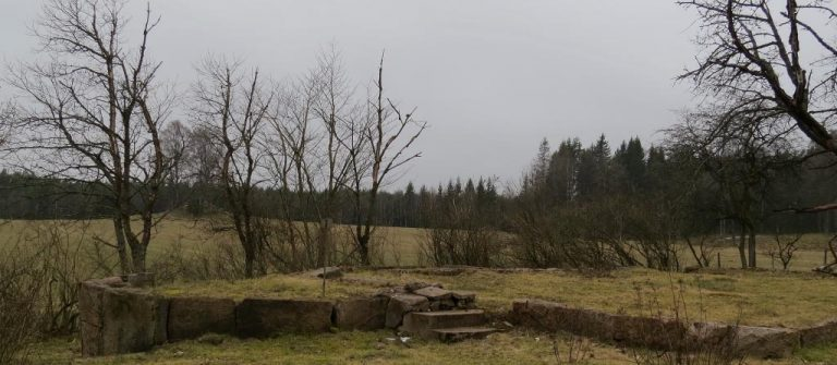 Minnen på ett skjutfält