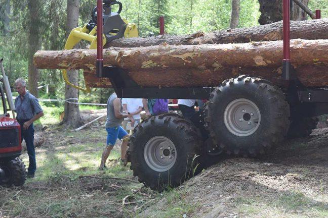 Skogsbruket diskuterades hos tekniska