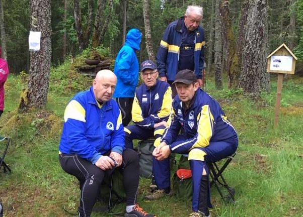 VSOK arrangerade veterantävling