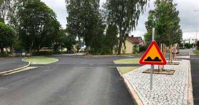Nya lokala trafikföreskrifter träder i kraft idag