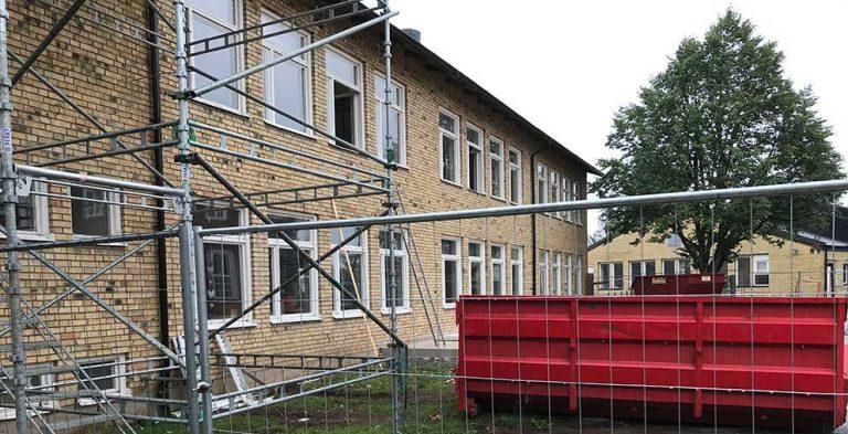 Full fart på Hjortsjöskolan