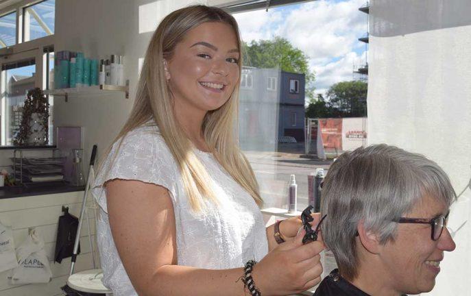 Hilda valde frisöryrket