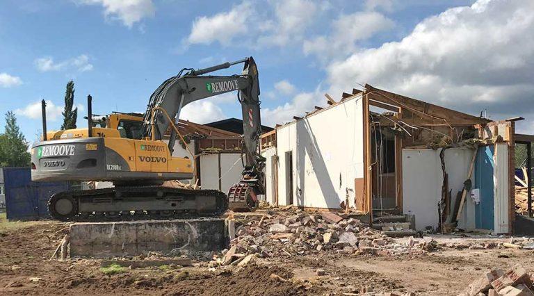 Bygglovet för nya grundskolan ströks igen