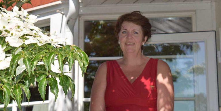 Många lockades till Susannes trädgård