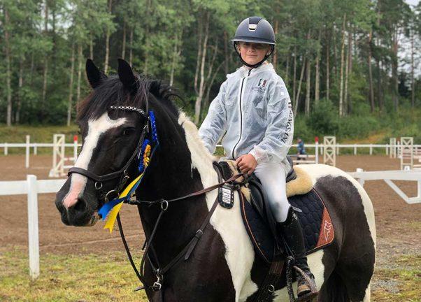Ponnyryttare fortsätter att leverera