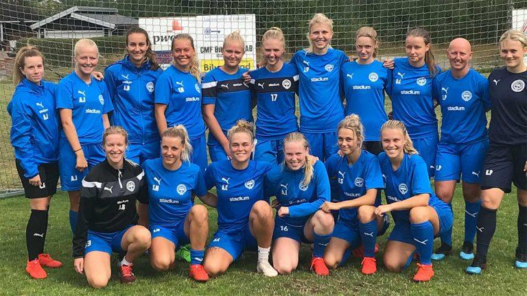 IFK-damerna laddar för viktiga matcher