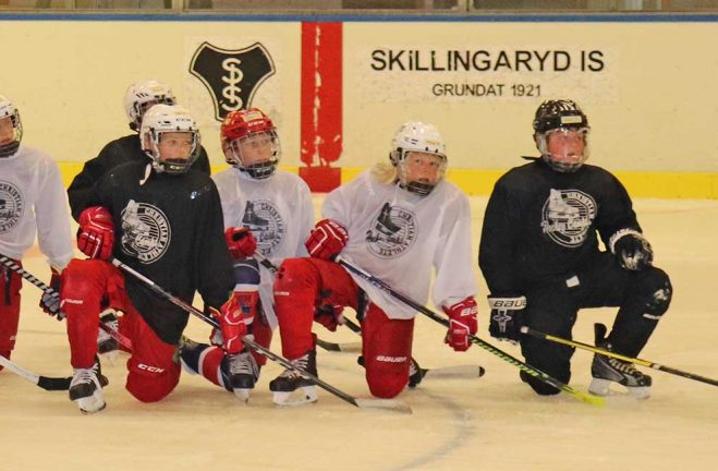 Ishockeyskolan onsdag-torsdag