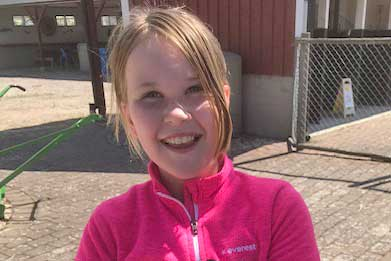 Moa Wilhelmsson 10 år