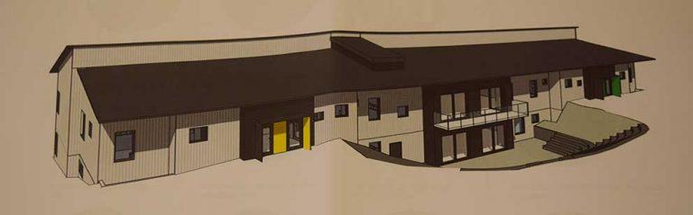 Ny Sörgårdsskola byggs
