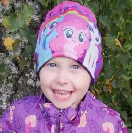 Izabell Rosgren 5 år