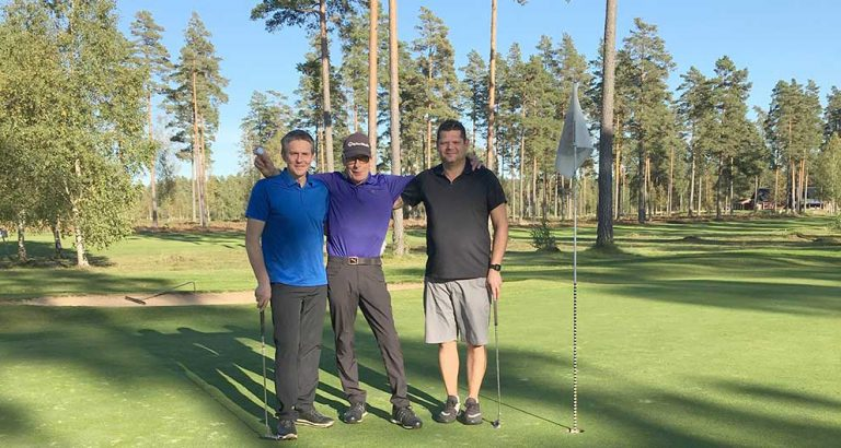 Rolf gjorde sin tredje hole-in-one
