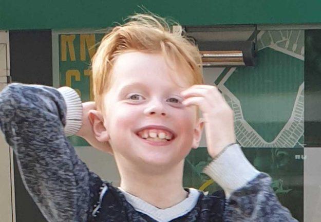 Justin Mattsson 8 år