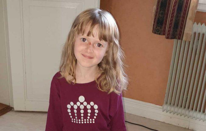 Maya Karlsson 6 år