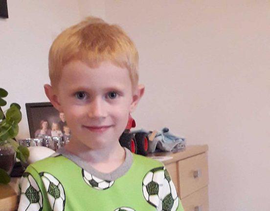 Alfred Andersson 6 år