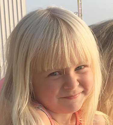 Alva Larsson 5 år