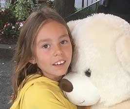 Amanda Mir 8 år