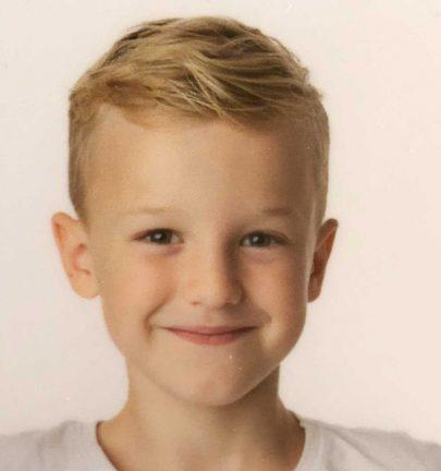 Aston Broström Lindblad 8 år