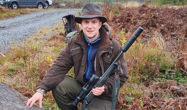 Claz från Värnamo sköt sin första älg