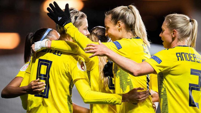 Sverige utklassade Slovakien