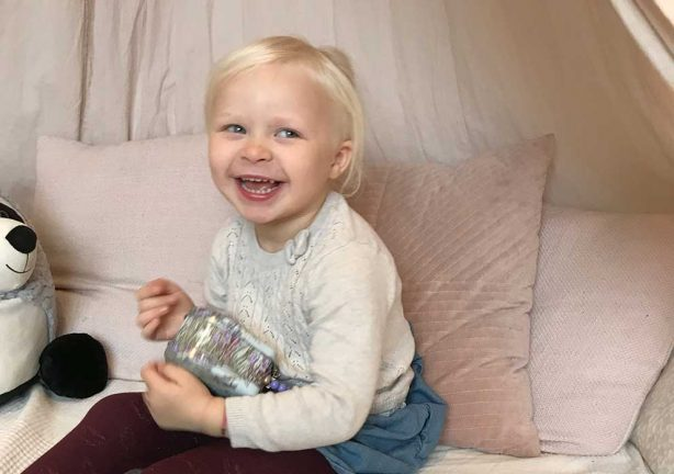 Emilia Andersson 4 år