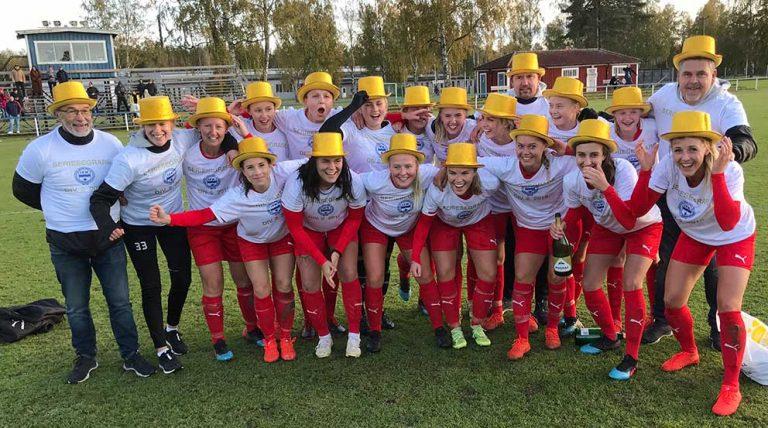 IFK-dam åter i div 1 efter vinst mot WIK – två tv-inslag