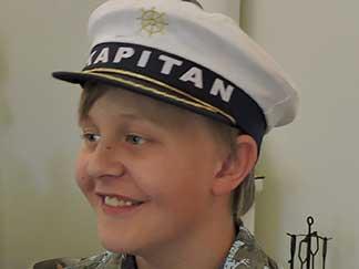 Oscar Stjernqvist 12 år