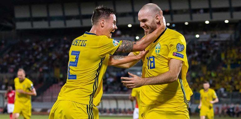Sverige vann klart mot Malta