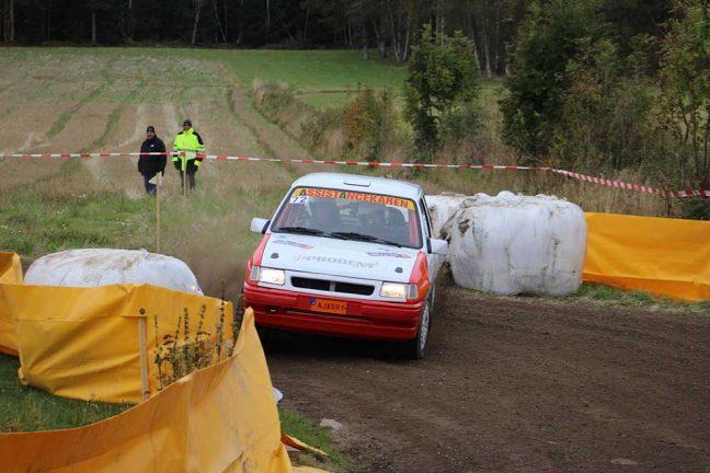 Fem deltävlingar i Sydsvenska Rallycupen