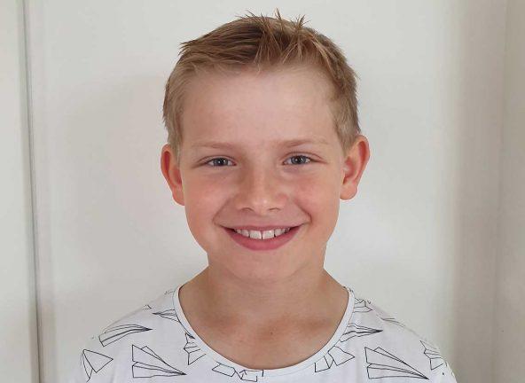 Hjalmar Hedlund 8 år