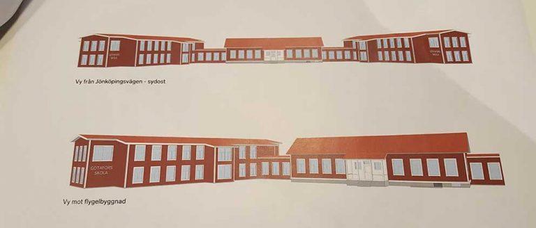 Byggnationen av Götafors skola är lagd på framtiden