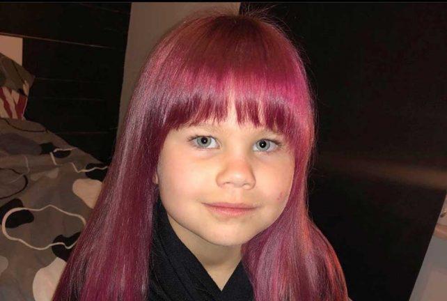 Thea Nyman 6 år