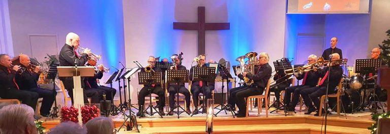Julkonsert med Vaggeryd Brass