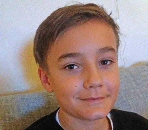 Marcus Ekh 11 år