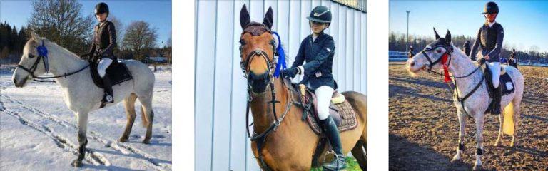 200 ponnystarter på hemmatävling