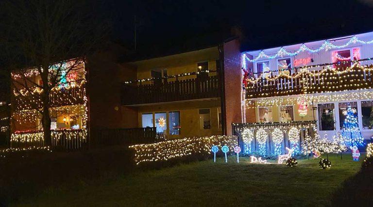 Grannarna lyser upp Vaggeryd