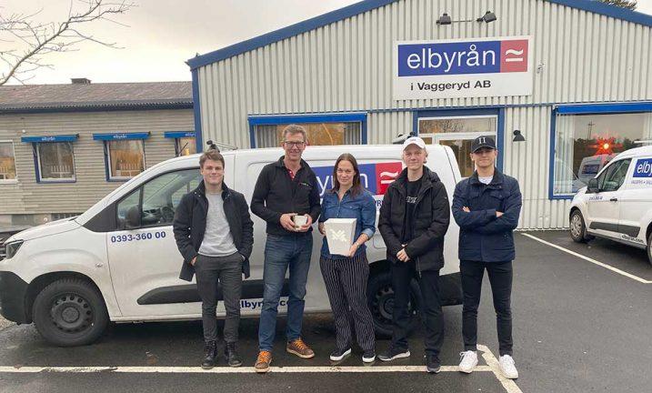 Unga företagare fick hjälp av Elbyrån
