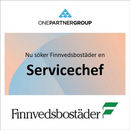 Servicechef till Finnvedsbostäder