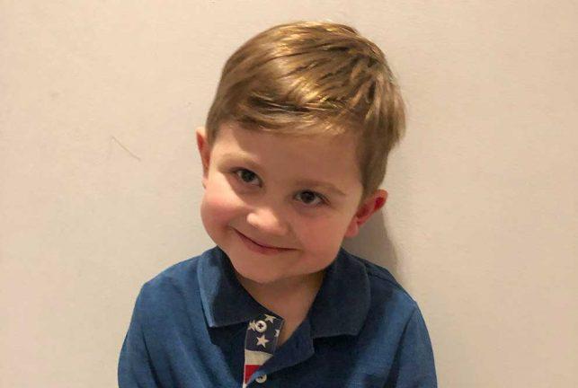 Nils Carlsson 5 år