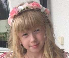 Vera Larsson 8 år