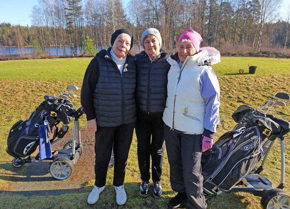 Soliga golfdagar före snön på Götaström