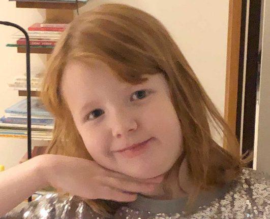 Dahlia Broström Lindblad 5 år