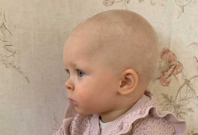 Mathilde Andersson 1 år