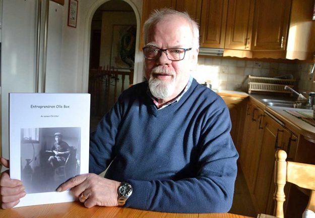 """Christer skrev bok om sin pappa """"Olle Box"""""""