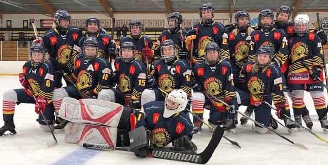VGIK vann damserien