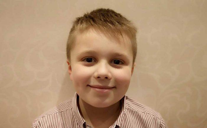 Vilmer Hansson 9 år