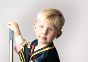 Charlie Ahlqvist 4 år