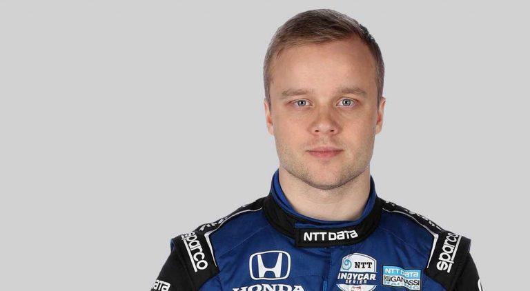 Felix Rosenqvist inför Indycar 2020