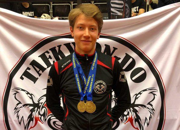 Tre guld för Olle Torstensson