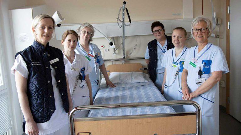 Värnamo sjukhus öppnar vårdavdelning för covid-19 patienter