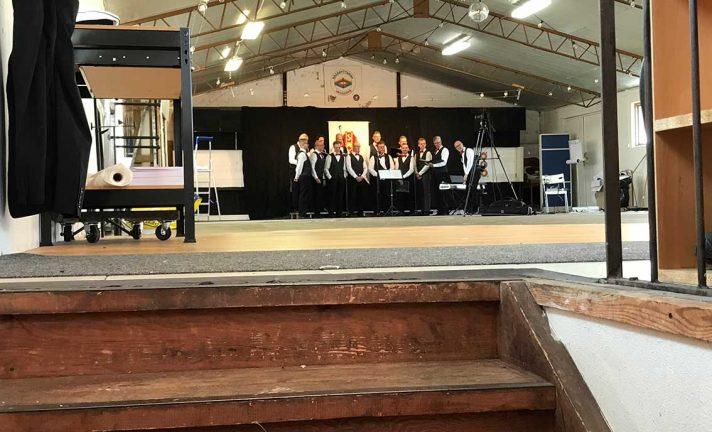 Manskören spelade in Valborgskonsert